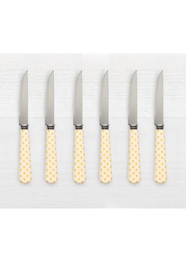 Friends Yellow D. 6'lı Tatlı/Meyve Bıçağı-Pink&More